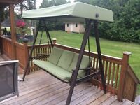 Patio furniture and lawnmower for sale
