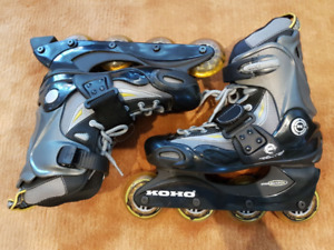 Koho Women's Roller Blades, Sporting Guards & Backpack