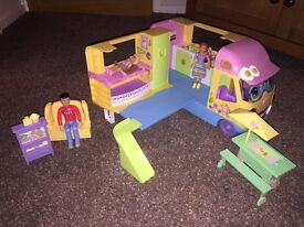 LEARNING CURVE CAMPER VAN WITH EXTRAS.