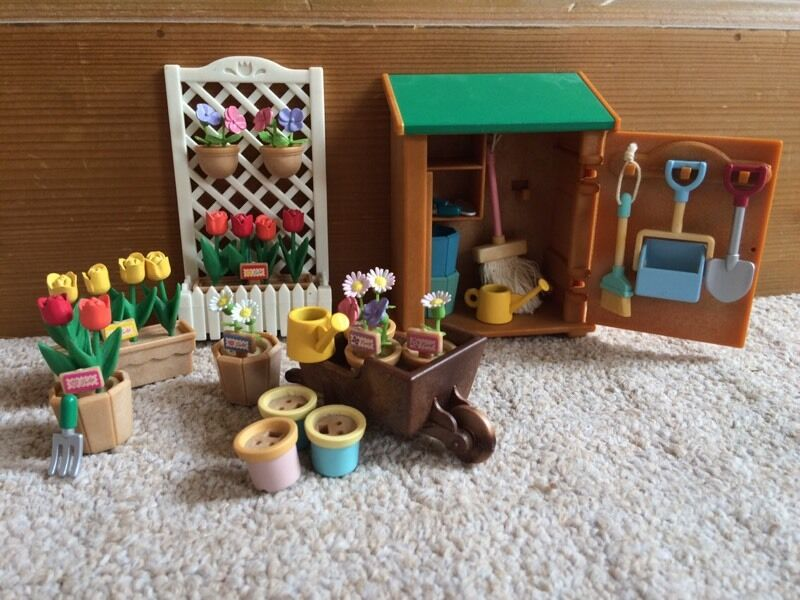 Sylvanian Families Garden Shed In Worcester