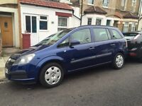 Vauxhall Zafira 2006 automatic direct 7 seater for sale