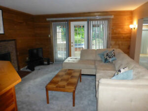Large Basement Suite For Rent available Nov 1st - Terrace Bench