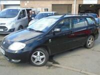 2003 03 TOYOTA COROLLA 1.6 T3 VVT-I 5D 109 BHP