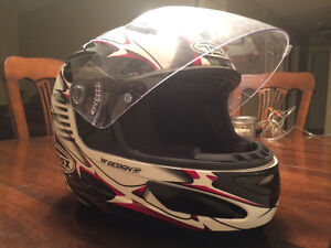 Motorcycle helmet size Large