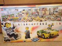 Large Lego city canvas