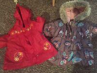 Autumn/Winter coats 6-9months