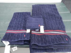 Ralph Lauren towel set