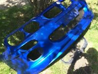 Mg Zr Front Bumper (Damaged)