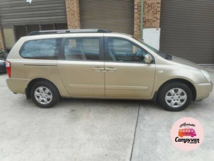2006 Kia Grand Carnival Rego Ideal backpackers car