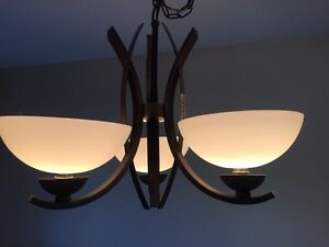 Dining room light for sale like new Windsor Region Ontario image 1