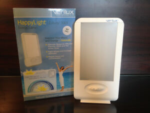 Verilux Happy Light Liberty - 10,000 lux light therapy lamp