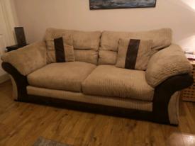 3 Seater & 2 Seater Fabric Sofa's