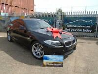 2012 (62) BMW 520 2.0TD M SPORT WIDE SCREEN NAVIGATION LEATHER 68,000 MILES