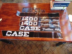 Case 1200 Decals and Gaskets