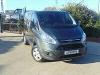 2016 Ford Transit Custom 290 L1 H1 LIMITED 125ps 4 door Panel Van