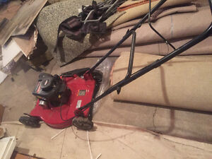 Canadian lawn mower 148cc Briggs Stratton