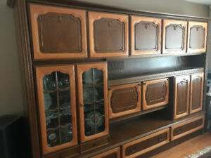 Beautiful one of a kind china/storage cabinet