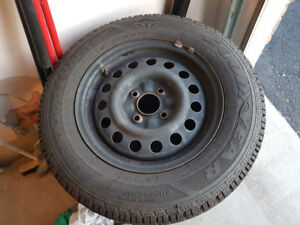 Nissan Altima Winter Tires with Rim