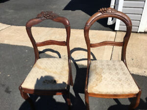 Couple old chairs