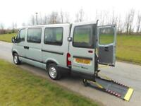 2010 60 Renault Master 2.5 DCi WHEELCHAIR ACCESSIBLE DISABLED VEHICLE WAV
