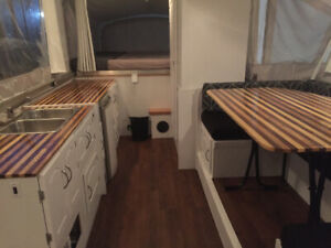 Totally Renovated  High Wall Fleetwood Avalon Trailer