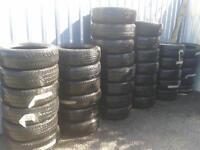 CAR VAN & 4X4 TYRES 195/60X16.X4 215/65X16 X4 205/60X16 X3 235/65X16 X2