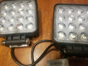 LED spotlights  and wiring harnesses(2)
