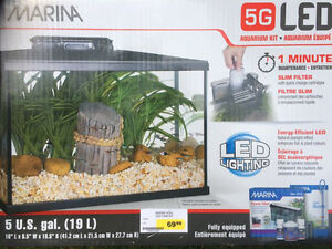 Fish Tank with All the Accessories