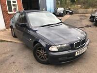 2001 BMW 3 Series 1.9 316i SE 4dr