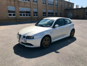 RARE 03 ALFA ROMEO 147 GTA 3.2 250 HP 6 SPD FULL SERV MINT 1/42!