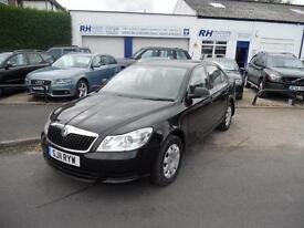 SKODA OCTAVIA S 1.6 TDI CR HATCHBACK 11reg BLACK DIESEL MANUAL