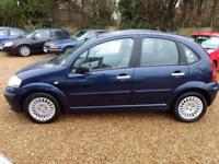 2003 Citroen C3 1.4HDi ( 92hp ) 2003MY Exclusive LONG MOT 4 SERVICE STAMPS