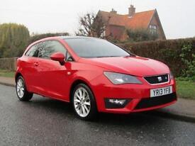 2013 Seat Ibiza 1.6 TDI CR FR 3DR TURBO DIESEL HATCHBACK ** £20 TAX * 48,000...
