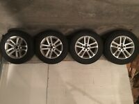 Ford Explorer 2012 Winter Tires and Alloy Rims