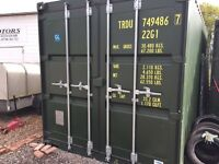 Shipping container for storage, brand new , in a secure yard £100 pm no vat