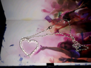 Womens sterling silver necklaces