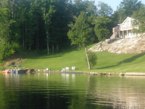 Royal home, approx 3,000 square feet. 200' Frontage overlooking