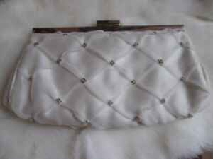 Beaded clutch purse, brand new