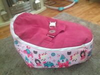 Bean Bag Planet pink bean bag- immaculate!