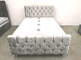 High Quality Crushed Velvet beds (FACTORY OPEN DIRECT TO THE PUBLIC)
