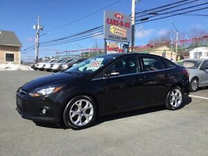 2014 Ford Focus Titanium 4dr Sedan