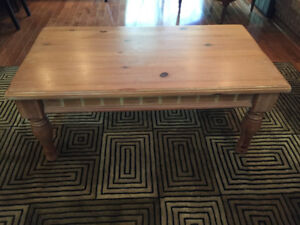 Alexvale Almost Like New Coffee Table Distressed Solid wood