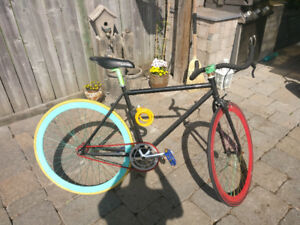 Fixed gear bike-barely used