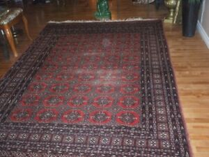 Vintage handknotted Persian Rug
