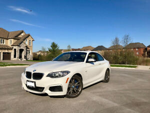 2014 BMW M235i. Excellent condition, 57, 000km, under warranty.