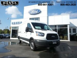 2018 Ford Transit Van BASE  Cargo - Medium Roof *148 WLB*