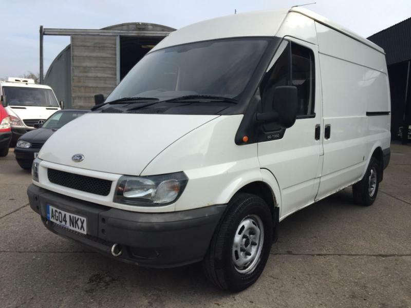 2004 04 reg ford transit 2 4 t350 mwb high roof finance only p week in wigston. Black Bedroom Furniture Sets. Home Design Ideas
