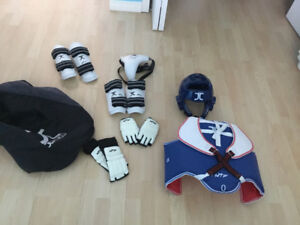 Full Set of Tae Kwon Do Protective Gear