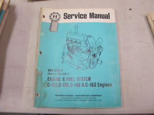 IH Tractor, C-123, C-135, C-146, C-153 Engines Service Manual