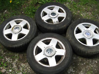 4 mags 15 pouces original VW golf, jetta new beetle tdi